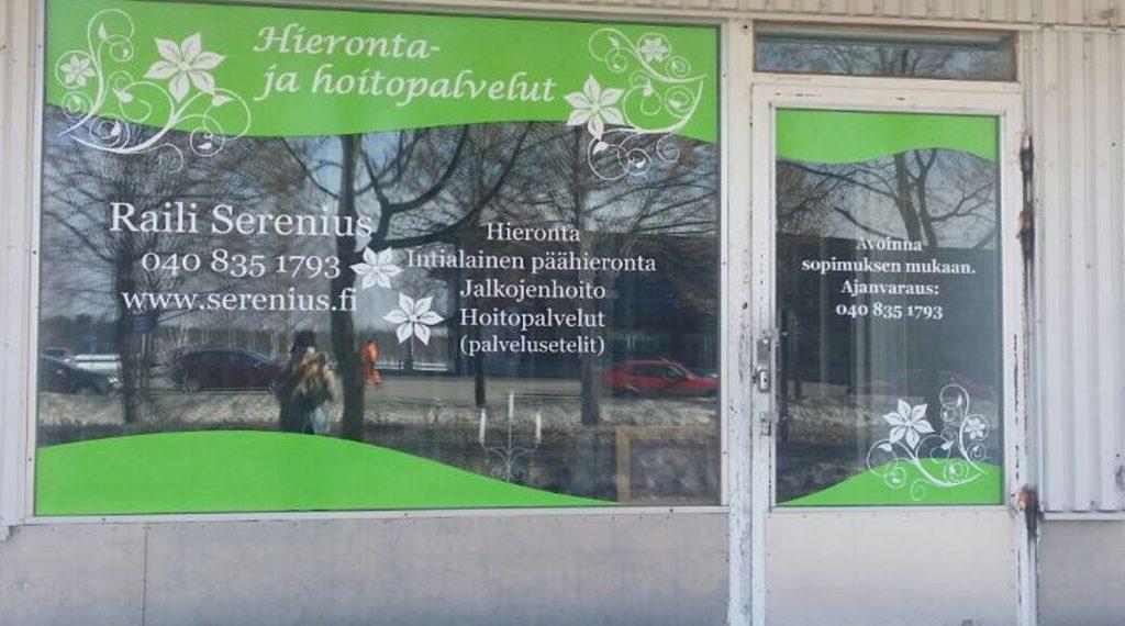 Hieronta- ja hoitopalvelut Raili Serenius