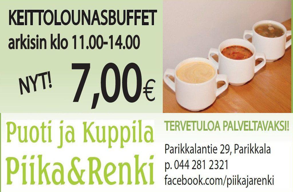 Puoti ja Kuppila Piika&Renki